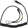 Cable: RS232 TTL, black, DB9, 2.3m (7.7in.), straight, 5v external power