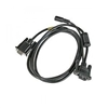 Cable: RS232, black, DB9, 5V, 2.9m (9.5in.) straight, External IO