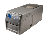 PD43C direct thermal printer with Ethernet, USB, 203 dpi, and power cord